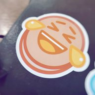 Joy Pancake Sticker