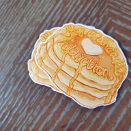My Pancake Addiction Sticker